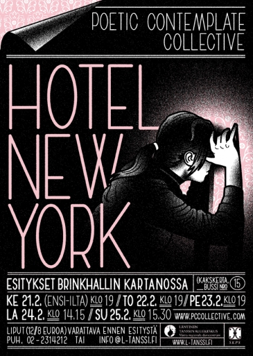 Sound performance: PoeticContemplateCollective: Hotel New York or other spots while mapping 2006–2007.
