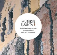Musiikin suunta 3/2918 Special issue: Soundscape Studies